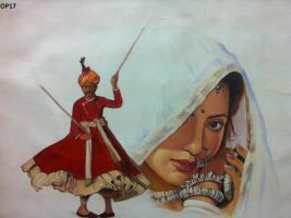 painting by Southasianart