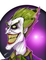 The joker by Uncorrupted