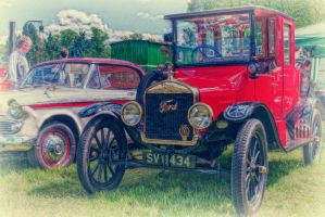 Vintage Ford by Partists