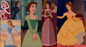 The many dress of Belle by Midnightrosesblood