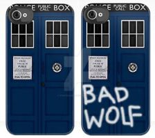 TARDIS IPhone or Bad Wolf...? by vanessaisha