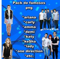 Pack Png De Famosos by directionerfran