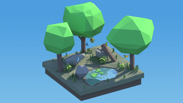 Forest Diorama by wesai