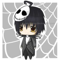 chibi Jack Skellington by pacifique