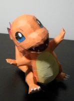 Charmander by jewzeepapercraft