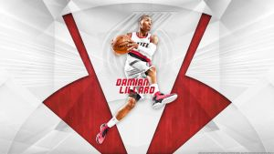 Damian Lillard' ROY' Wallpaper by rhurst
