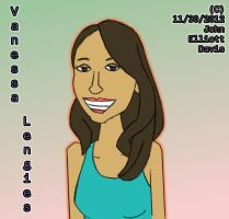 Vanessa Lengies by LittleGreenGamer