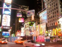 New York City - Broadway 2 by AndGodSaidOhMyGod
