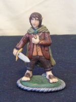 Frodo the Ringbearer by superclayartist