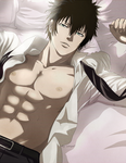 Psycho-pass: Kogami Shinya by Lesya7