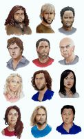 LOST Faces (reasonably sized document) by Mooknar