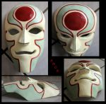 Amon Mask - Legend of Korra by TheGUTLESS