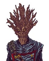 I Am Groot color by BigDogsStudio