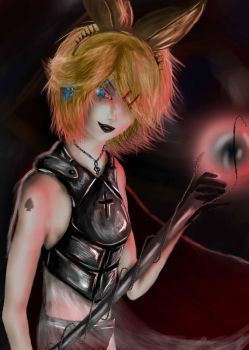 kagamine rin (spade king) by 1meee-forever