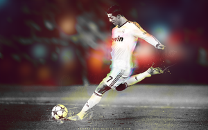 Cristiano Ronaldo - Real Madrid - Wallpaper by ASHRAF-GFX