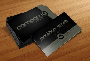 Free Business Card PSD v6 by CursiveQ-Designs
