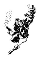 Lobster Johnson by dfridolfs