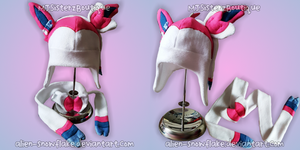 Pokemon Sylveon Fleece Hat Scarf