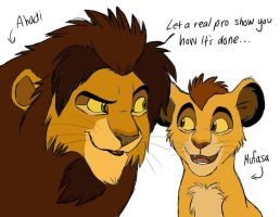 1st Generation Pouncing Lesson by Graystripe64