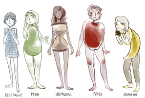 body shapes by Jesscookie