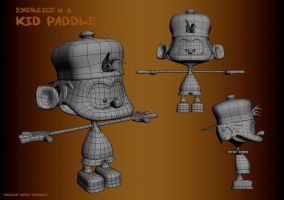 Kid Paddle - Step V by doudcolossus