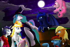 It's Nightmare Night! by SakuraCheetah
