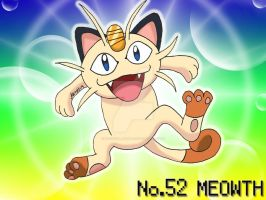No. 52 Meowth by Magical-Mama