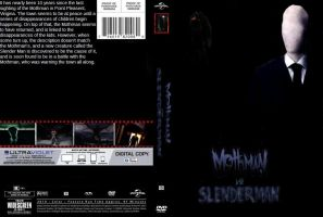 Mothman vs Slenderman DVD cover by SteveIrwinFan96