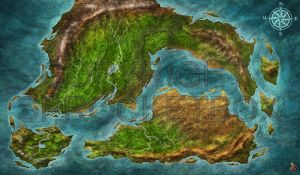 Island map by Djekspek