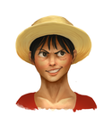luffy..... by Elzux