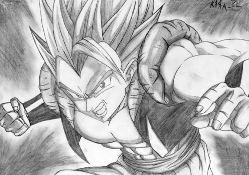Gogeta Fusion By Kira_PL by KiRaPL