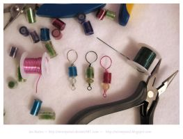 Recycled Soda Bottle Beads by WireMySoul