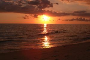 Sunset Sanibel by Infest90