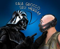 Vader e Bane by refux99