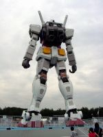 Gundam in Odaiba_3 by y-nrmt