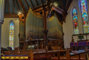 Stained glass and Organ 1 February 2016 by ENT2PRI9SE