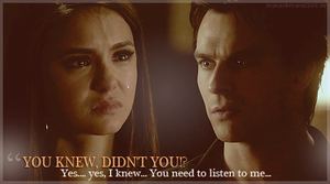 You knew - Elena and Damon by franzi303