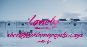 FONT B1A4-LONEY by Milevip