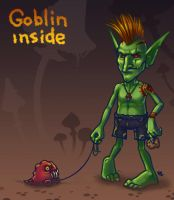 Goblin inside by Beffana