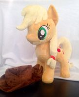 Applejack by perfectlyplushie