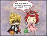 KH2 - Halloween Costumes... by Krazy-Chibi