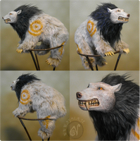 WoW Bear Creature Art Doll by Nymla