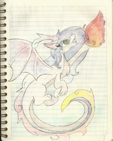 Dragon draw :v by Guajorite