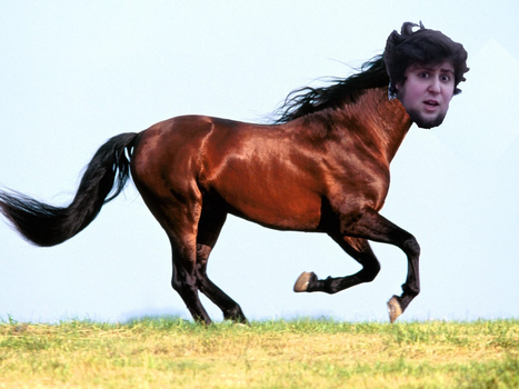 Jontron the Horse by scabalquinto