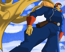 Wallpaper Captain Falcon by CaptainZelda07