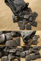 Ebony Runes and Deer Pouch by ValkyrieOfODIN