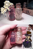 Characters in Bottles by Tattletail