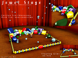 MMD- Jewel Stage.2 + transparency -DL by MMDFakewings18