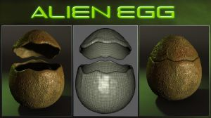 FREE Object - The Alien Egg by Laticis