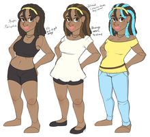 Character Concept Part 2 by strawberryneko33